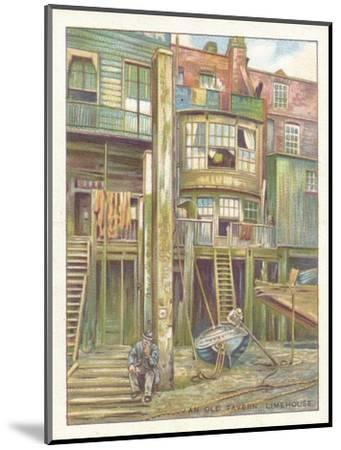 'An Old Tavern, Limehouse', 1929-Unknown-Mounted Giclee Print