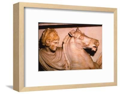 Alexander the Great fights the Persians, 4th century BC. (20th century)-Unknown-Framed Photographic Print