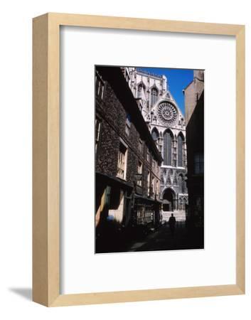 The Shambles and York Minister, York, 1958-CM Dixon-Framed Photographic Print