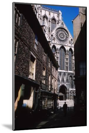 The Shambles and York Minister, York, 1958-CM Dixon-Mounted Photographic Print