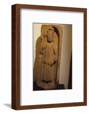 Relief figure of King Olaf, from St. Magnus Cathedral, Kirkwall, Orkney, 20th century-Unknown-Framed Photographic Print