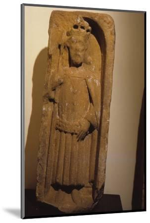 Relief figure of King Olaf, from St. Magnus Cathedral, Kirkwall, Orkney, 20th century-Unknown-Mounted Photographic Print