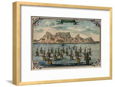 'Cape Town', c1680-Unknown-Framed Giclee Print