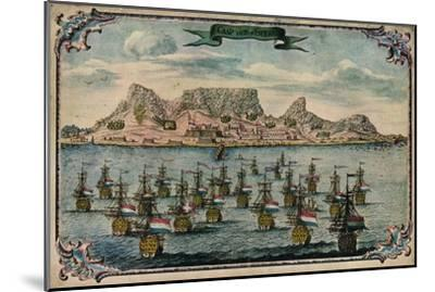 'Cape Town', c1680-Unknown-Mounted Giclee Print