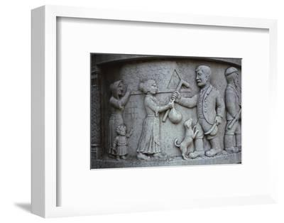 Waggoners Memorial, Sledmere, East Yorkshire, England, 20th century.Home to go to War-Unknown-Framed Photographic Print