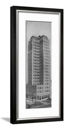 Medical Arts Building, Dallas, Texas, 1923-Unknown-Framed Photographic Print