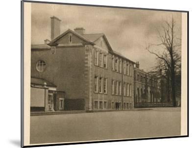 'Mill Hill School', 1923-Unknown-Mounted Photographic Print