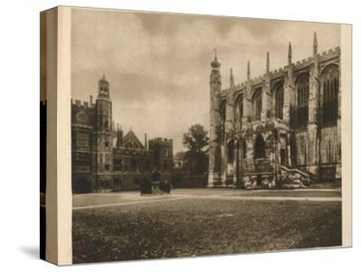 'Eton College', 1923-Unknown-Stretched Canvas Print