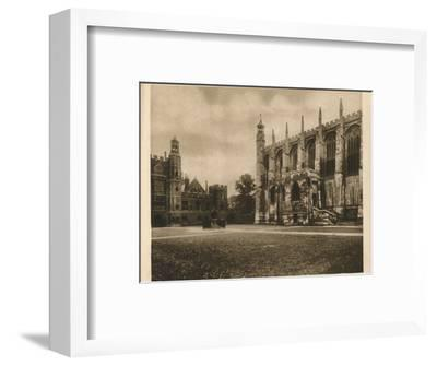 'Eton College', 1923-Unknown-Framed Photographic Print