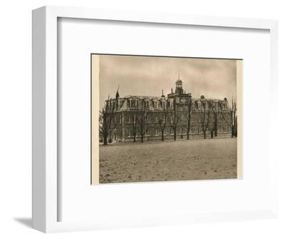 'Epsom College', 1923-Unknown-Framed Photographic Print