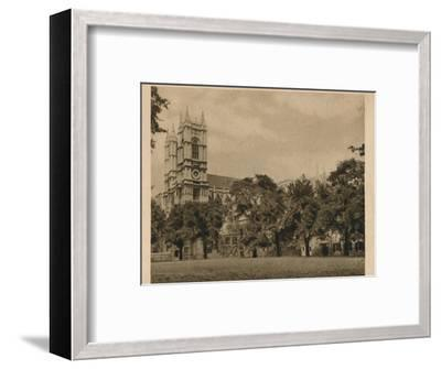 'Westminster School', 1923-Unknown-Framed Photographic Print