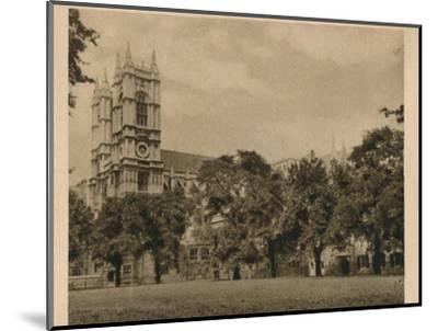 'Westminster School', 1923-Unknown-Mounted Photographic Print