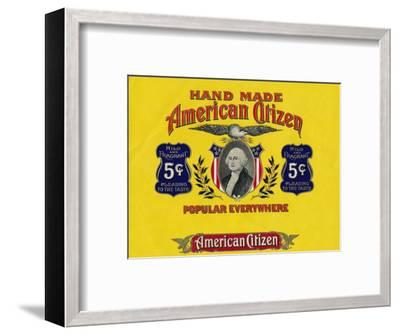 'Hand Made American Citizen', c20th century-Unknown-Framed Giclee Print