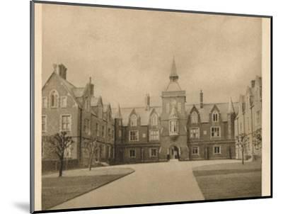 'John's School, Leatherhead', 1923-Unknown-Mounted Photographic Print