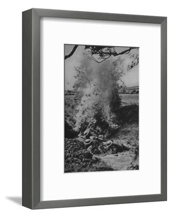 'Assault Course', 1940-1942, (1943)-Unknown-Framed Photographic Print