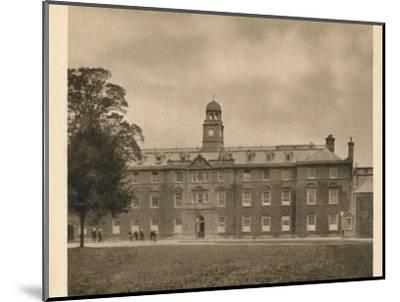 'Shrewsbury School', 1923-Unknown-Mounted Photographic Print