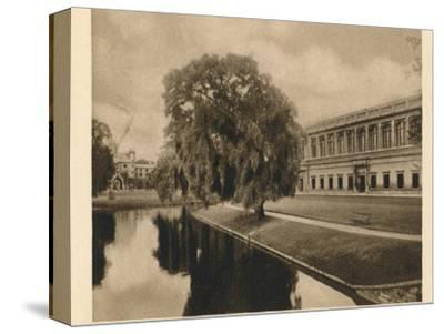 'Trinity Library, Cambridge', 1923-Unknown-Stretched Canvas Print