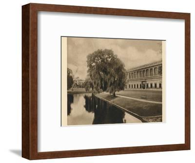 'Trinity Library, Cambridge', 1923-Unknown-Framed Photographic Print