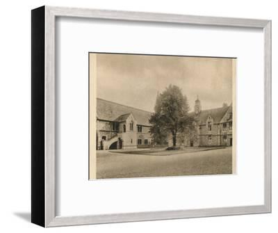 'Uppingham School', 1923-Unknown-Framed Photographic Print