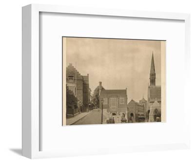 'Harrow School', 1923-Unknown-Framed Photographic Print