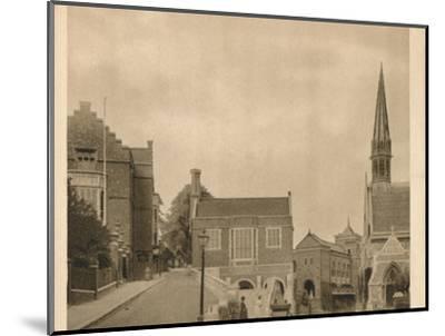 'Harrow School', 1923-Unknown-Mounted Photographic Print