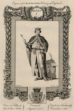'Henry I', (1068-1135), c1787-Unknown-Framed Giclee Print