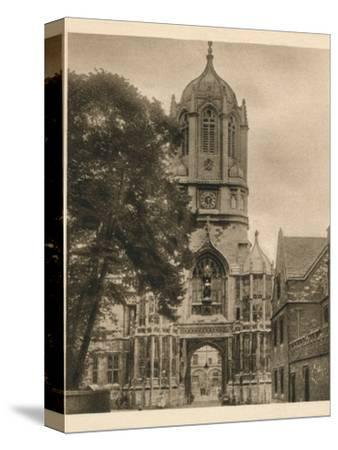 'Tom Tower, Christchurch College', 1923-Unknown-Stretched Canvas Print