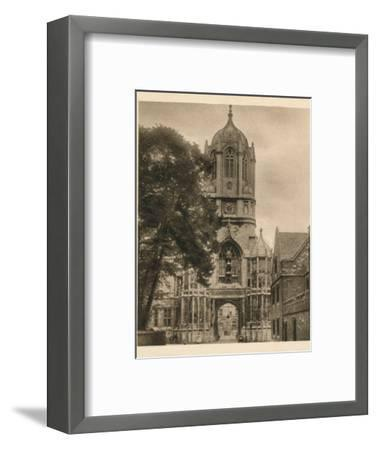 'Tom Tower, Christchurch College', 1923-Unknown-Framed Photographic Print