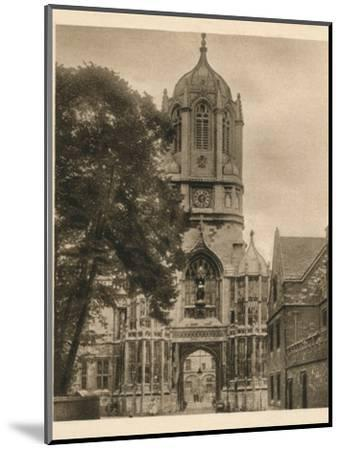 'Tom Tower, Christchurch College', 1923-Unknown-Mounted Photographic Print