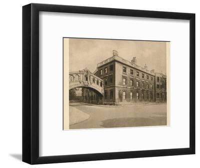 'Hertford College, Oxford', 1923-Unknown-Framed Photographic Print