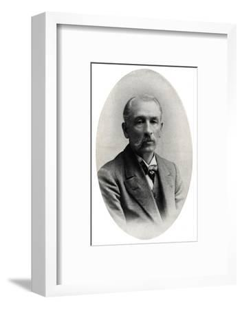 'Professor James Long', c1916, (1917)-Unknown-Framed Photographic Print