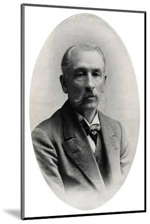 'Professor James Long', c1916, (1917)-Unknown-Mounted Photographic Print