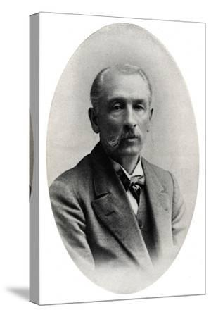 'Professor James Long', c1916, (1917)-Unknown-Stretched Canvas Print