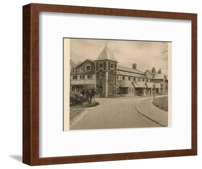 'Malvern College', 1923-Unknown-Framed Photographic Print