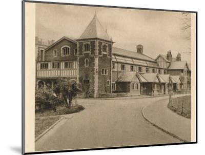 'Malvern College', 1923-Unknown-Mounted Photographic Print