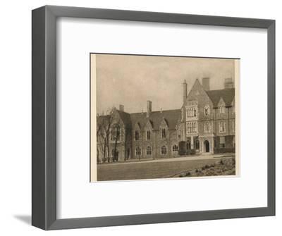 'Brighton College', 1923-Unknown-Framed Photographic Print