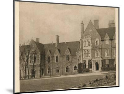 'Brighton College', 1923-Unknown-Mounted Photographic Print