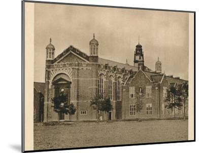 'Christ's Hospital', 1923-Unknown-Mounted Photographic Print