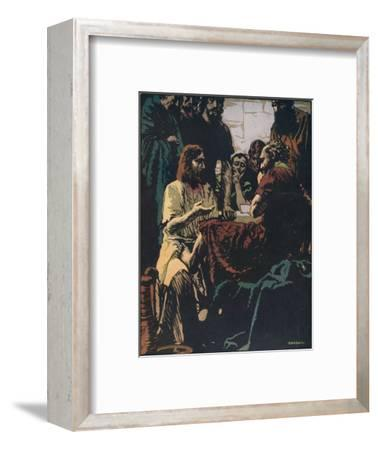 'The Obligations of Service and Sacrifice', c1900, (1917)-Unknown-Framed Giclee Print