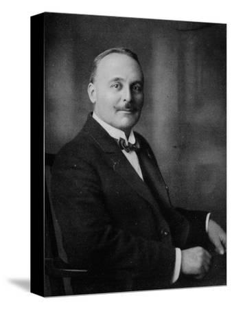 'Mr. Harold W. Bromhead', c1917, (1917)-Unknown-Stretched Canvas Print