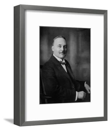 'Mr. Harold W. Bromhead', c1917, (1917)-Unknown-Framed Photographic Print