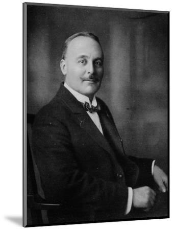 'Mr. Harold W. Bromhead', c1917, (1917)-Unknown-Mounted Photographic Print