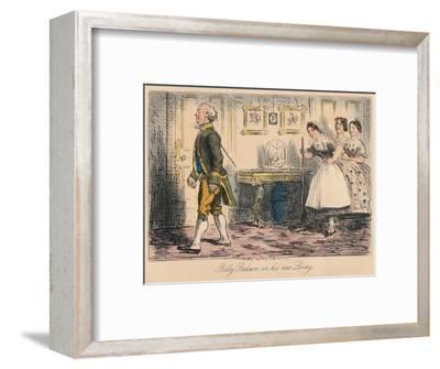 'Billy Balsam in his new Livery', 1865-John Leech-Framed Giclee Print