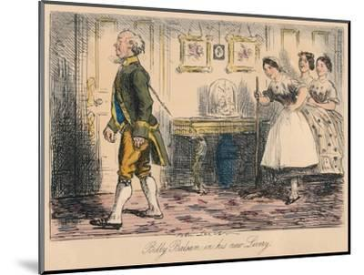 'Billy Balsam in his new Livery', 1865-John Leech-Mounted Giclee Print