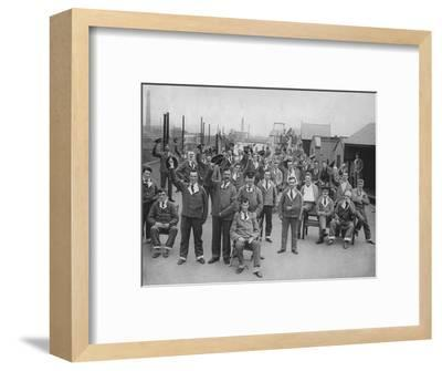 'Some of our Wounded Heroes', c1917, (1917)-Unknown-Framed Photographic Print