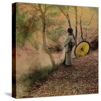 'The Golden Days of Autumn in Japan', 1896-Unknown-Stretched Canvas Print