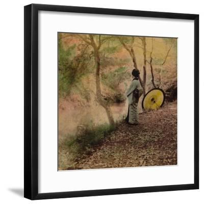 'The Golden Days of Autumn in Japan', 1896-Unknown-Framed Photographic Print