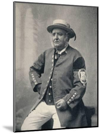 'Geoffrey Dobson', 1935-Unknown-Mounted Photographic Print