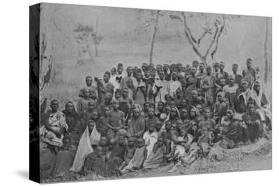 'Christians at Kisokwe', 1901-Unknown-Stretched Canvas Print