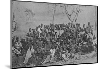'Christians at Kisokwe', 1901-Unknown-Mounted Photographic Print